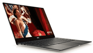 side view of Dell-XPS-student-laptop