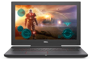 front view of Dell Laptop