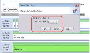how to change drive letter of external drive