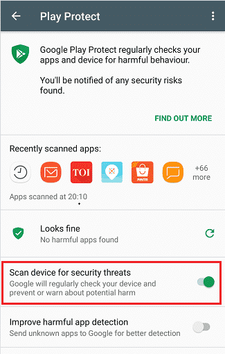 google-android-security feature