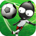 logo stickman-soccer game