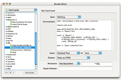 screenshot of textmate editor for mac