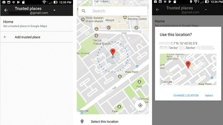 image of trusted-places settings