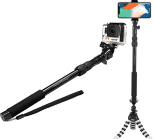 image depicting lifestyle brand selfie stick