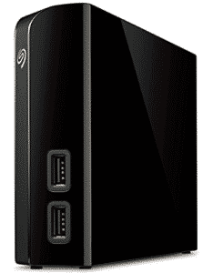 seagate backup drive in black color