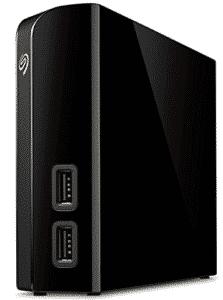 seagate backup drive in black color