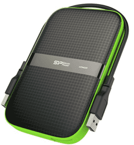 image of 1tb portable drive with USB cable