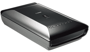image showing flatbed photo-scanner