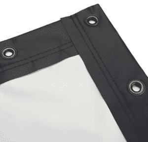 screen cloth black-border