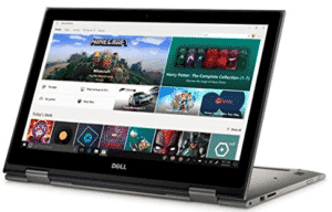 Dell in Convertible position