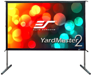 image showing front-view of yardmaster-projection-screen