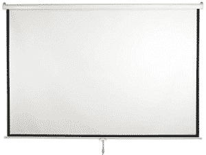 image of white-projector-screen