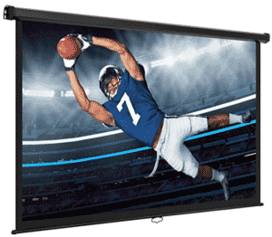 vonhous screen showing sports