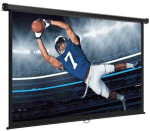vonhous screen showing sports