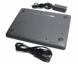 hp-chromebook with accessories