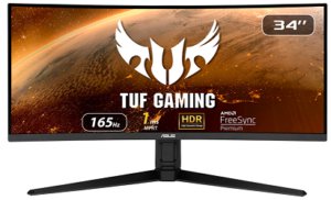 image of asus curved monitor