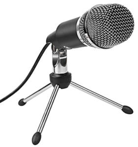 Front view of Mic with stand