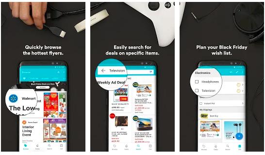 image of flip online shopping app