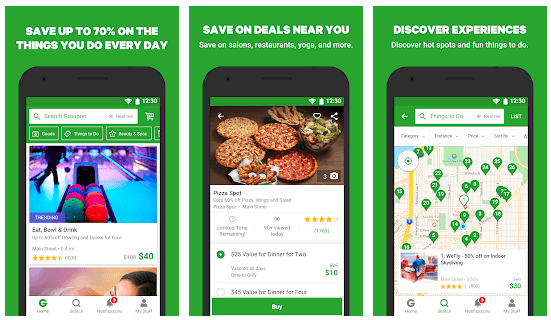 image showing save on groupon deals