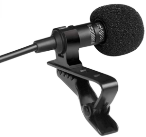 image of USB microphone with stand