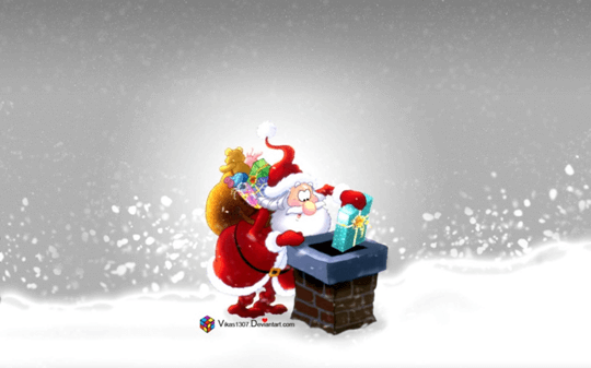 animated santa image