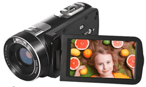 image of seree-camcorder showing a kid