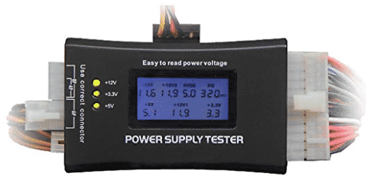 image of HDE-make power supply tester