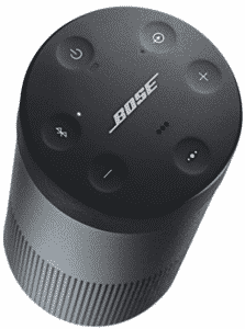 top view of Bose party speakers