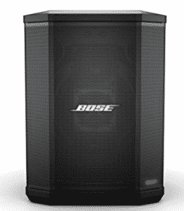 Front view of Bose Speakers