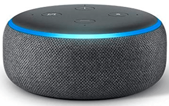 Amazon echo-dot-3 in grey color