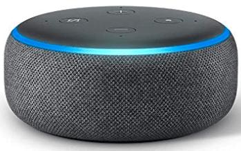 Amazon echo-dot-3 in grey color