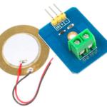 piezoelectric vibration sensor's image