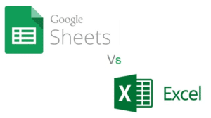 difference between google sheets and excel