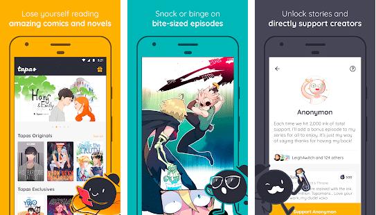 image of comic app tamas