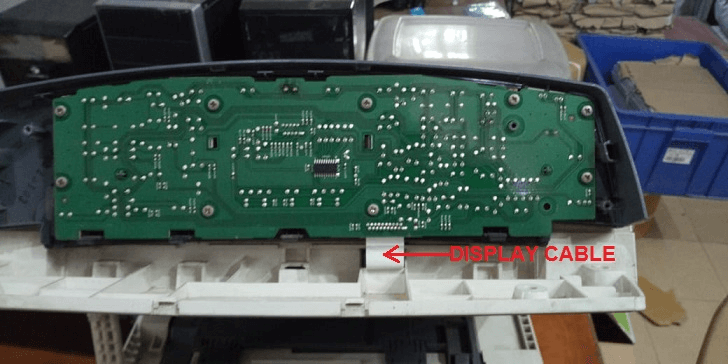 image showing circuit of the panel