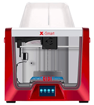 screenshot of 3D Printer in Red and Grey color