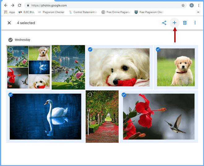 screenshot showing add button
