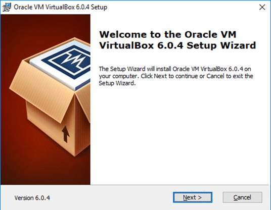 image showing installation step one