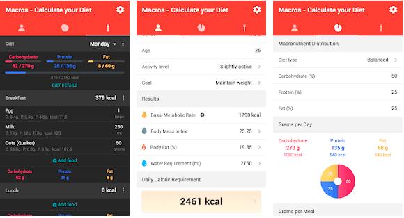 imae showing macros app