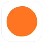 image shows the logo of headspace calming app