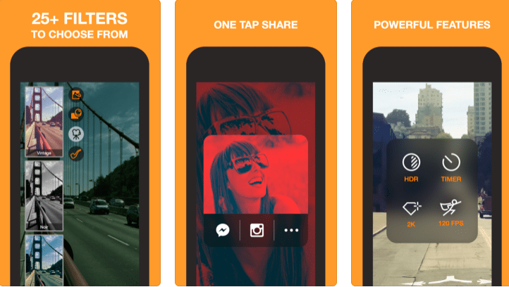 video recording app for androis