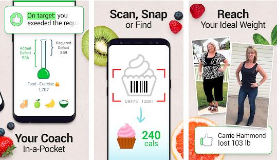 screenshot of best carb tracker app