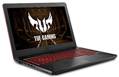 screenshot of Asus FX gaming laptop under $1000