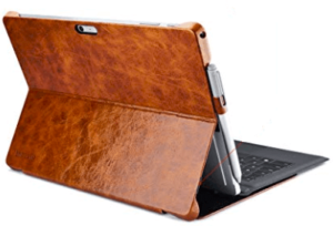 side view of icarer cover for surface pro