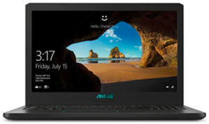 Front view of Asus Vivobook