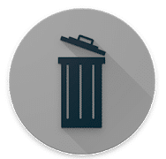 image showing chat bin in black color