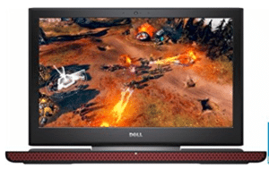 image of Dell gaming laptop under 1000