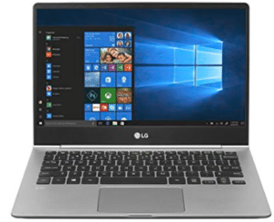 LG laptop in grey color