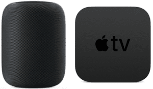 how to connect homePod with AppleTV