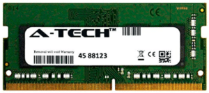 Laptop RAM with green PCB